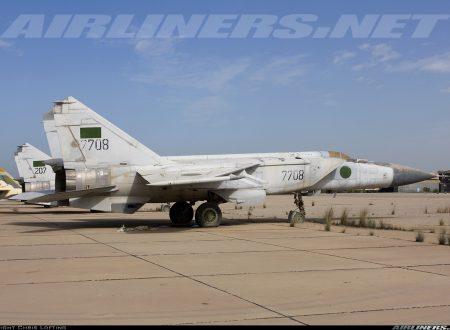 I cinque aviogetti da combattimento più efficienti di terza generazione: MiG-25