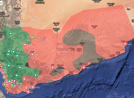 Siria – Yemen, 1 Luglio 2018