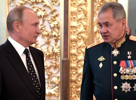 Il Ministro della Difesa Shojgu sulla visione di Mosca dei problemi della sicurezza
