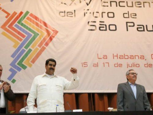 Nicolás Maduro Moros al Forum di San Paolo