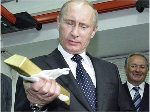 Putin si propone di abbattere la dittatura del dollaro con l'oro
