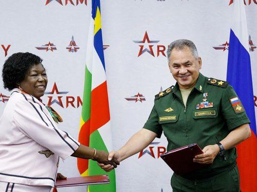 Russia ed Africa centrale firmano un nuovo accordo di cooperazione militare