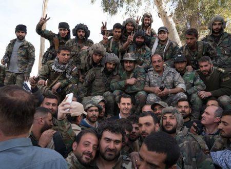 Grazie agli Eroi dell'Esercito Arabo Siriano