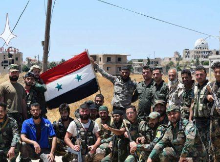 La guerra in Siria volge al termine