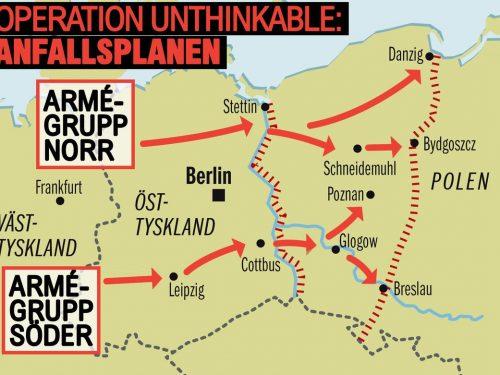 Operazione impensabile: subito dopo la Seconda Guerra Mondiale, gli USA pianificarono l'attacco nucleare all'URSS