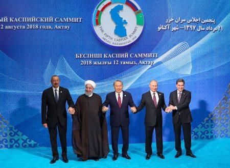 La convenzione del Mar Caspio apre nuove prospettive per la regione