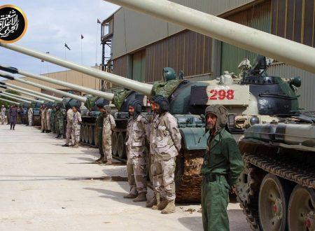 La guerra in Libia da maggio 2017 a settembre 2018
