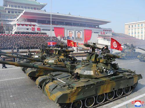Pokpung Ho, il carro armato più avanzato della Corea democratica