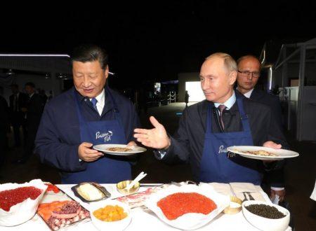 La de-occidentalizzazione continua coll'integrazione eurasiatica
