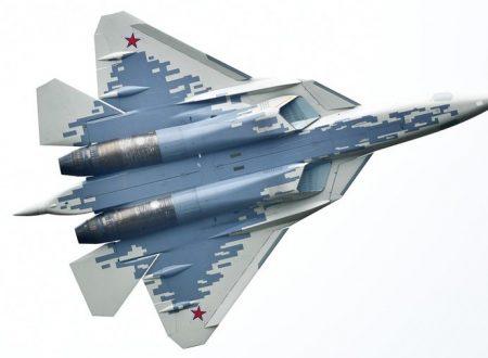 Il caccia Su-57 può abbattere gli aerei nemici a 300 km di distanza
