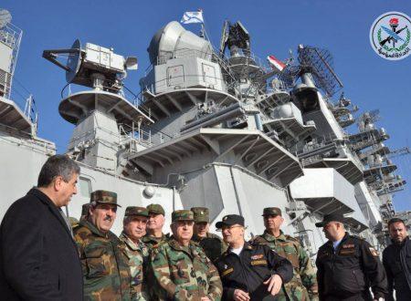 Sorpresa! Le Forze navali russe sorveglieranno la liberazione d'Idlib
