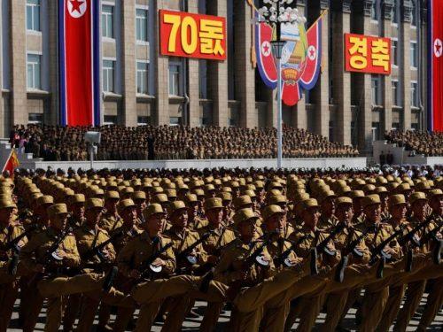 I sistemi di difesa aerea della Corea democratica sono al centro della scena