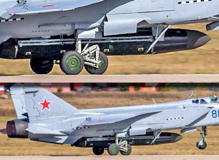 MiG-31: vettore del missile nucleare Burevestnik?