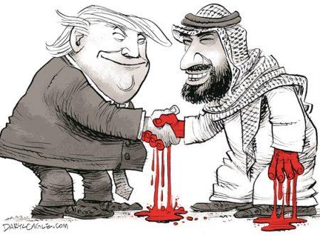 L'alleanza di Trump con squartatori, infanticidi e squadroni della morte