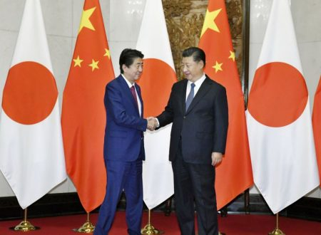 """""""Svolta storica"""" nelle relazioni tra Giappone e Cina"""