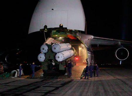 La Russia completa il dispiegamento degli S-300 in Siria