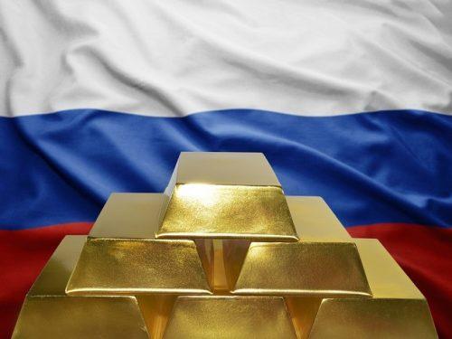 La Russia aggiunge una quantità record di oro alle riserve