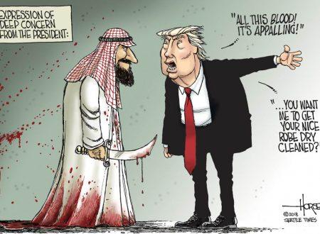 Putin usato come distrazione nel vergognoso accordo USA-Arabia Saudita