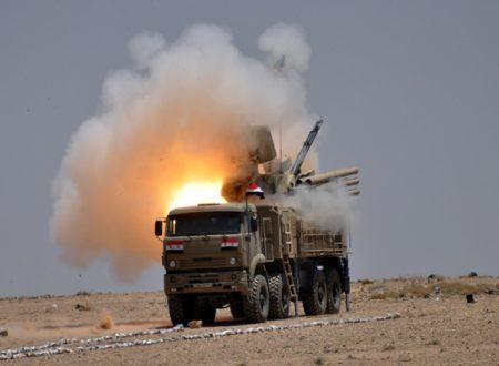 La Difesa Aerea siriana sventa totalmente l'ultima aggressione sionista