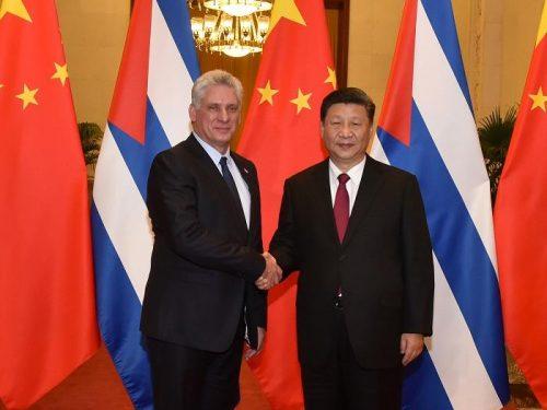 Xi colloquia col presidente cubano per promuovere i legami