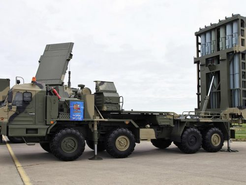 Le Forze Aeree russe riceveranno i nuovi sistemi missilistici S-350 Vitjaz
