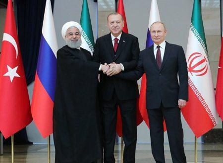 Le sanzioni degli USA a Russia, Iran e Turchia indicano il successo di Astana