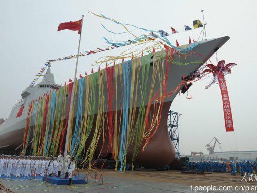 La Cina espande l'industria navale per supportare il più grande programma navale mai realizzato