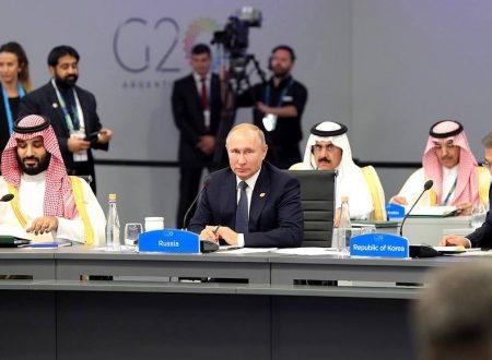 Nel declinare degli USA, Putin sostiene la riforma dell'OMC