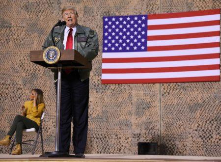 Trump corre in Iraq, per evitare un golpe contro di sè