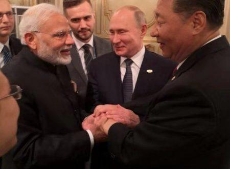 I rapporti tra India e Cina passano a un nuovo livello