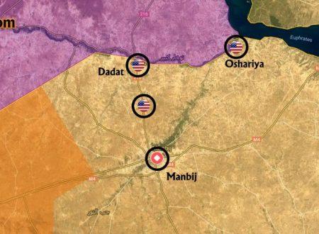 I curdi siriani si sbarazzano degli statunitensi