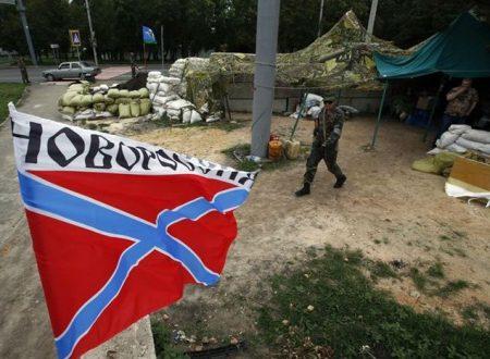Soldati della NATO sul fronte del Donbas
