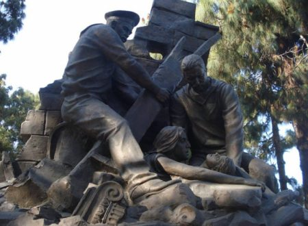 Le Navi della Squadra Russa che soccorse Messina nel dicembre 1908