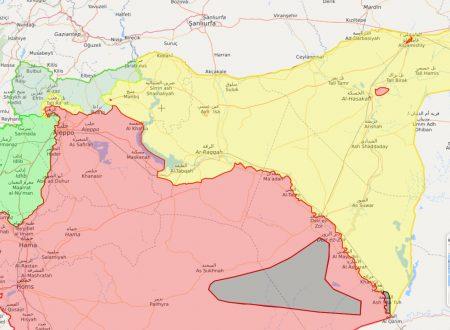 Accelerazione della liberazione dell'Eufrate orientale siriano