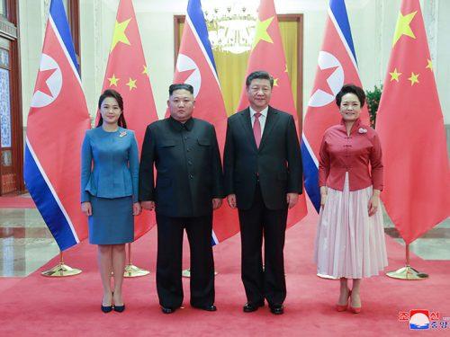 Il Leader supremo Kim Jong Un Visita la Cina