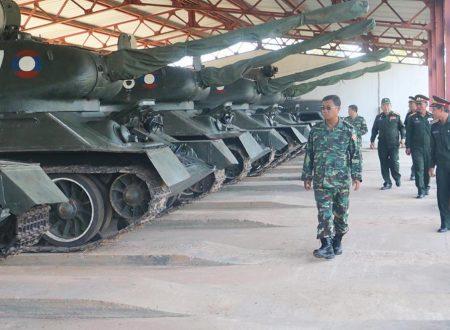 Il Laos restituisce dei leggendari carri armati T-34 sovietici alla Russia