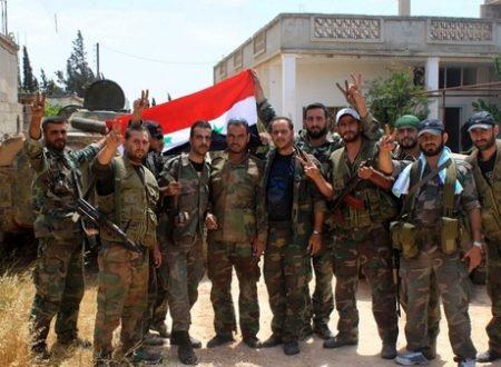 La distruzione del terrorismo in Siria, spinge le ambasciate ad inginocchiarsi a Damasco