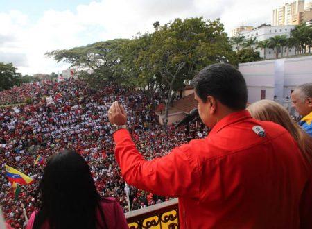A sostegno del popolo venezuelano e del Presidente Maduro