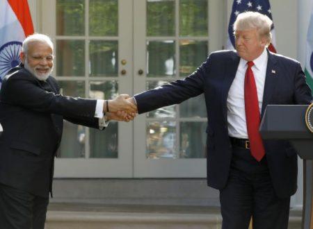Il romanzo tra Modi e Trump termina con note aspre