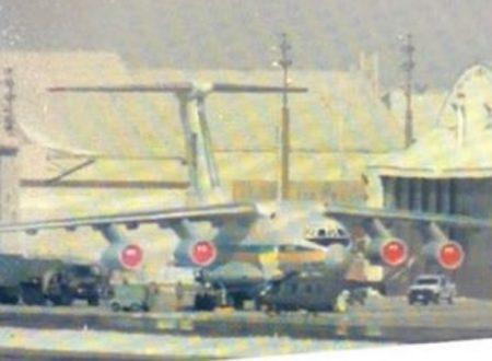 Un aereo-cargo Il-76 ucraino compie un volo segreto a Salt Lake City