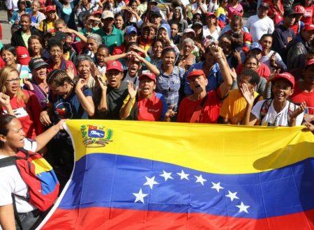 Paesaggio politico venezuelano del 23 Febbraio