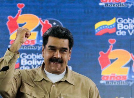 """Maduro: """"Non passerò alla storia come colui che ha voltato le spalle al popolo"""""""