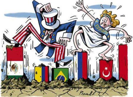 Le nazioni dovrebbero esplorare un sistema per spezzare l'egemonia degli Stati Uniti