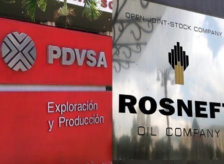 "Rosneft afferma che l'instabilità del Venezuela è ""temporanea"""