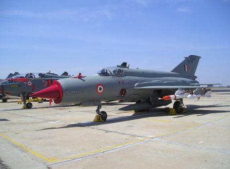 Un MiG-21 indiano abbatte un F-16 pakistano