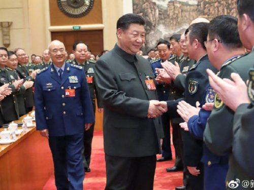 Xi sottolinea il tempestivo completamento dello sviluppo militare