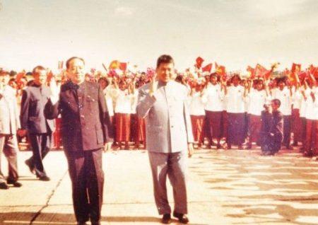 La visita di Pot Pot in Cina e Corea nel 1977