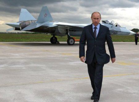 Il Presidente Putin elogia il Su-57 come miglior aereo militare del mondo