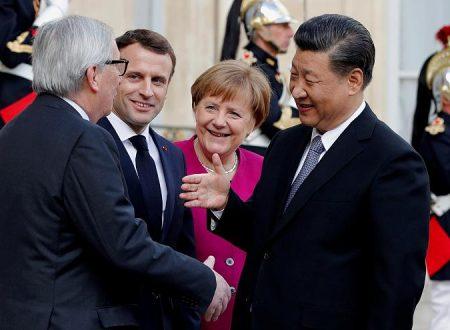 La Cina aumenta la cooperazione finanziaria con la Germania mentre gli USA chiudono le porte