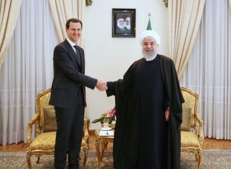 "Una ""cintura e strada"" iraniana-siriana"